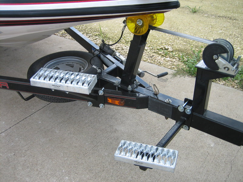 Diy Boat Trailer Steps Do It Your Self